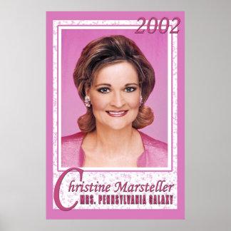Christine - Sra. PA Poster