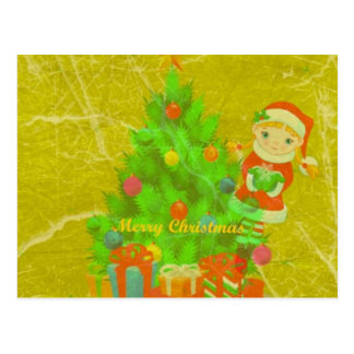 Christmas, Merry weihnachtskarte Cartoes Postais