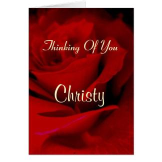 Christy Cartão