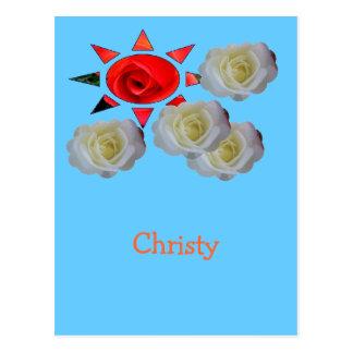 Christy Cartão Postal
