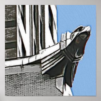 Chrysler que constrói, NYC Poster