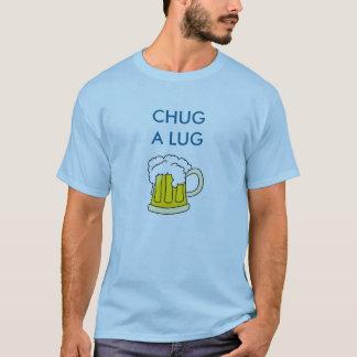 Chug um t-shirt da cerveja do talão