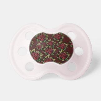 Chupeta 0-6 de BooginHead®baby meses de rosa vermelha