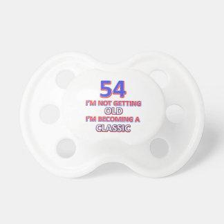 Chupeta 54 designs do aniversário