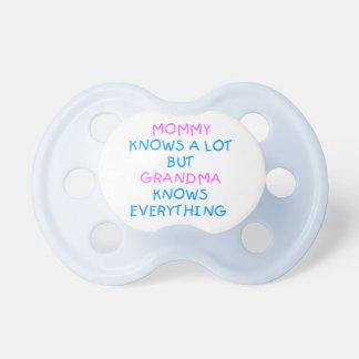 Chupeta A avó sabe tudo presente do dia das mães de |