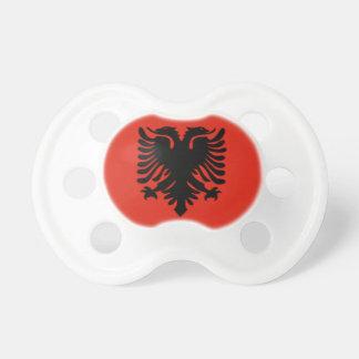 Chupeta Albânia Pacifiers velhos da bandeira de 0-6 meses