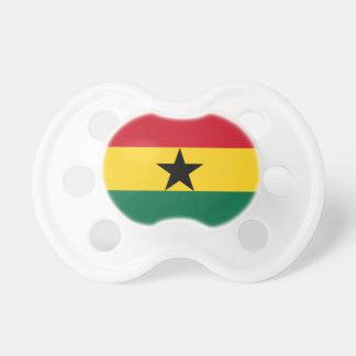 Chupeta Bandeira de Ghana