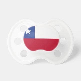 Chupeta Bandeira do Chile