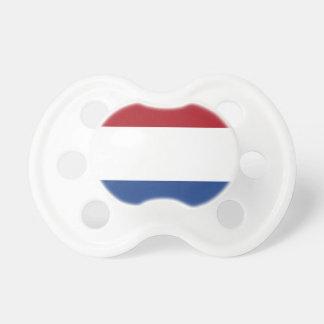 Chupeta Bandeira dos Países Baixos