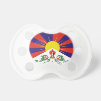Chupeta Bandeira livre de Tibet