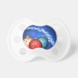 Chupeta Bolas decorativas 2 do Xmas