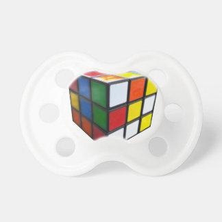 Chupeta cubo do quebra-cabeça dos anos 80