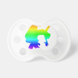 Chupeta Dança do arco-íris