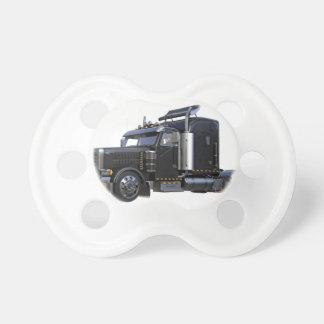 Chupeta Do preto caminhão do reboque de tractor semi