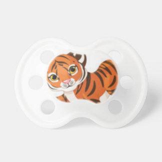 Chupeta Dos animais bonitos do gatinho das listras tigres