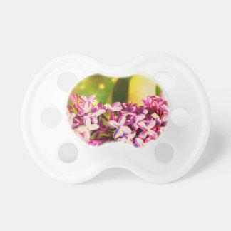 Chupeta Flor do Lilac com Bokeh 3