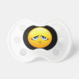 Chupeta Manequim triste de Emoji, 0-6 meses de Pacifier de
