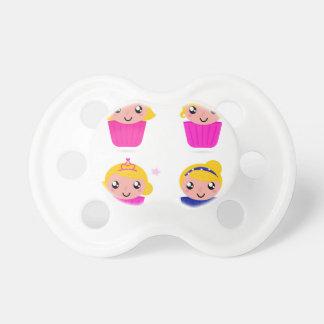 Chupeta Miúdos nos muffin