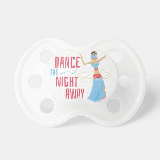 Chupeta Noite da dança ausente