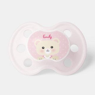 Chupeta O Pacifier de pouco bebé do urso