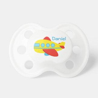 Chupeta Pacifier bonito do bebé do avião do passageiro