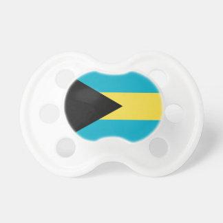Chupeta Pacifier com a bandeira de Bahamas
