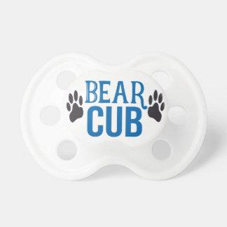 Chupeta Pacifier de Cub de urso do bebê