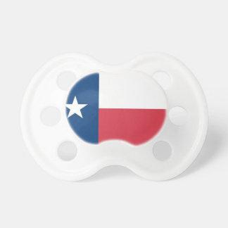 Chupeta Pacifier do bebê da bandeira de Texas