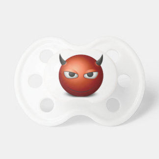 Chupeta Pouco manequim do diabo de Emoji, Pacifier