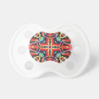 Chupeta Teste padrão tribal colorido