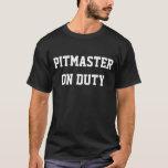 CHURRASCO PITMASTER no t-shirt do DEVER