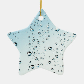 chuva ornamento de cerâmica