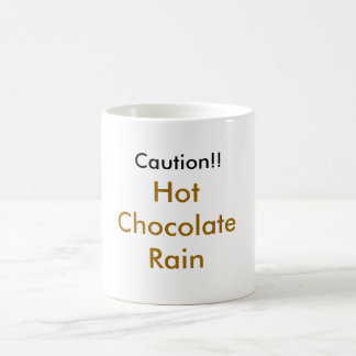 chuva zonday tay do chocolate caneca de café