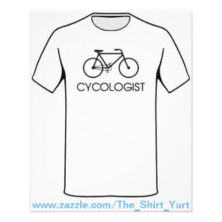 Ciclo do ciclismo de Cycologist Flyer 11.43 X 14.22cm