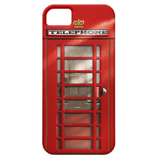 Cidade britânica do SE vermelho do iPhone da Capas Para iPhone 5