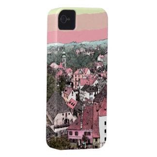Cidade cor-de-rosa capa para iPhone