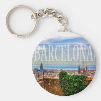 Cidade de Barcelona Chaveiro
