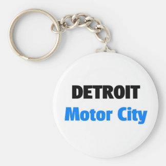 Cidade Detroit do motor Chaveiro