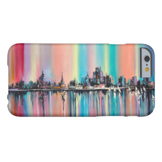 Cidade do arco-íris capa barely there para iPhone 6