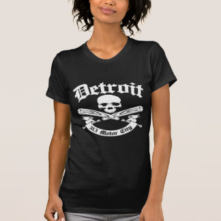 Cidade do motor de Detroit 313 Camisetas