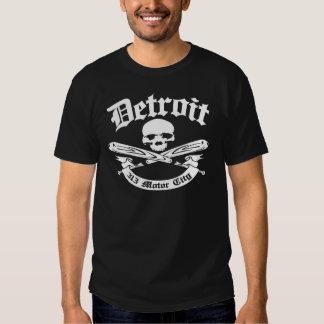 Cidade do motor de Detroit 313 T-shirts