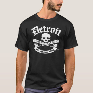 Cidade do motor de Detroit 313 Tshirts