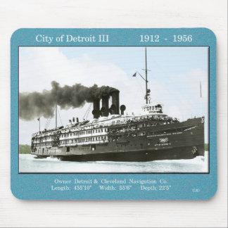 Cidade do mousepad de Detroit III