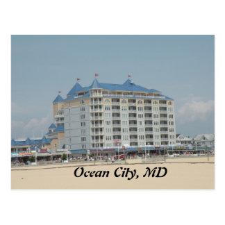 Cidade do oceano, cartão da DM Cartão Postal