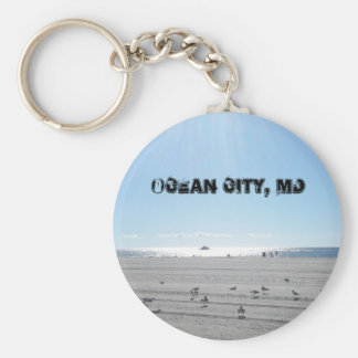 Cidade do oceano, chaveiro de Maryland