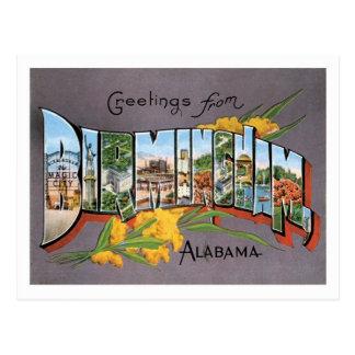Cidade dos E.U. do viagem de Birmingham Alabama Cartão Postal
