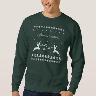 Cidade feia da camisola do Natal do Feliz Natal Moleton