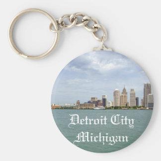 Cidade Michigan de Detroit Chaveiro