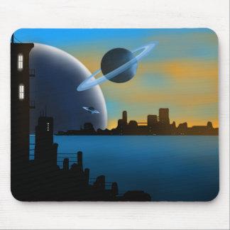 Cidade Mousepad do SciFi