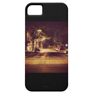 Cidade retro capa iPhone 5 Case-Mate